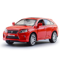 儿童仿真雷克萨斯RX450H 合金声光玩具汽车模型摆件玩具
