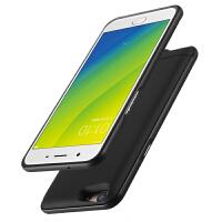OPPOA59S/A3/A5手机壳背夹电池a57m/find X背夹充电宝R15无线移动电源f1s金
