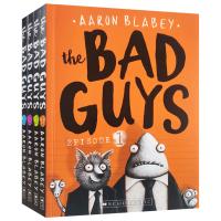 我是大坏蛋 4本盒装 The Bad Guys: the Bad Box 1-4 英文原版 儿童章节书 英语学习趣味漫画