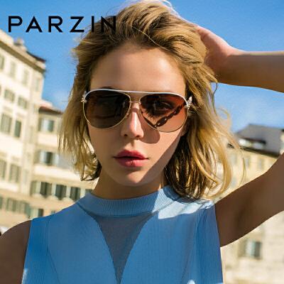 帕森女士偏光太阳镜明星宋佳同款尼龙镜片潮时尚蛤蟆墨镜9750