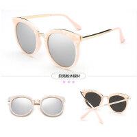 太阳镜圆脸女潮 墨镜个性时尚简约太阳眼镜