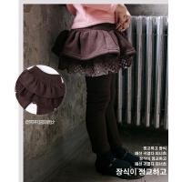 女童裙裤假两件女宝宝打底裤