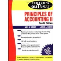 英文原版 会计原理纲要2,第4版 Schaum's Outline of Principles of Accounti