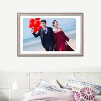 婚纱照水晶相框挂墙摆台照片相册定制3组合照片墙影楼高端八件套 高端影楼产品