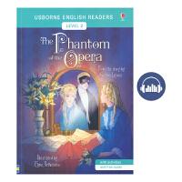 Usborne English Readers Level 2 The Phantom of the Opera 歌剧