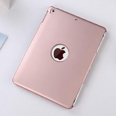 苹果2018新款ipad蓝牙键盘保护套Air2/1防摔A1853金属Pro9.7英寸平板电脑A189 9.7新ipad/Air2/Pro9.7 玫瑰金