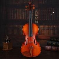 小提琴专业练习款 带视频教程 大师手工成人演奏琴 初学者练习配琴盒琴弦肩托