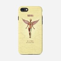 Nirvana涅��摇滚iPhonex苹果 8Plus手机壳7科特柯本Kurt Cobain 11 备注iPhone型号
