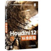 【旧书二手书8成新包邮】Houdini 12标准教程 水晶石教育 人民邮电出版社 9787115333667【正版】