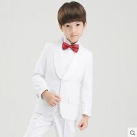 韩版花童礼服男童钢琴演出服主持服装儿童西装套装男孩西服