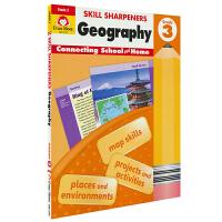 Evan-Moor Skill Sharpeners Geography Grade 3 小学三年级地理练习册 美国加州