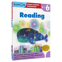 Kumon Reading Workbooks G6 公文式教育英文原版图书 小学六年级英语阅读练习册 11-12岁儿