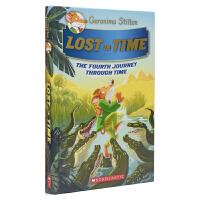 Geronimo Stilton Lost In Time 老鼠记者穿越时空系列全彩桥梁书 忘记时间 儿童青少年彩色插