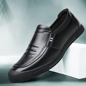 宜驰 EGCHI 休闲鞋男士户外包头软底商务休闲皮鞋子男鞋 20505