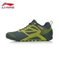 李宁跑步鞋男鞋2017新款透气耐磨防滑男士户外越野运动鞋AHRM021