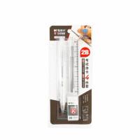 晨光1196学生考试套装 2B铅笔+铅芯+涂卡尺+橡皮 两卡装