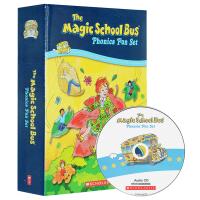 正版 神奇校车自然拼读故事 英文原版绘本 Magic School Bus Phonics Fun 礼盒装12册附CD
