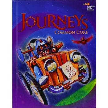 【中商原版】旅程共同核心学生用书 Vol.1 Grd 3 英文原版 Journeys Common Core Student Edition Volume 2 Grade 3