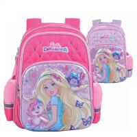 芭比双肩包 0479女学生书包 创意公主背包 带反光条女孩休闲包