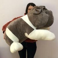 八哥犬毛绒玩具热卖丑萌超丑沙皮狗公仔大号可爱抱枕头床上睡觉抱