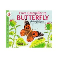 From Caterpillar to Butterfly (Let's Read and Find Out) 自然科