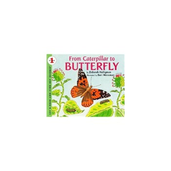 From Caterpillar to Butterfly (Let's Read and Find Out)  自然科学启蒙1:毛毛虫变蝴蝶ISBN9780064451291