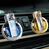 汽车香水 高档空调出风口香水创意车载车用香水 汽车风口香水镶钻