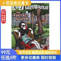 进口英文原版The Vampire's Vacation A to Z 神秘案件#22 吸血鬼的假期
