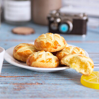 曲奇饼 148g传统糕点爆浆曲奇饼干美味香甜可口休闲零食