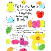 Ed Emberley's Complete Funprint Drawing Book ISBN 9780316174