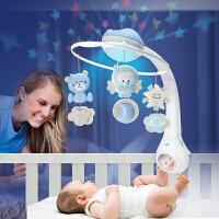 美国Infantino婴蒂诺 新生儿床铃 婴儿玩具音乐三合一床头摇铃0-1岁 三合一梦幻版可拆玩
