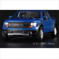 儿童玩具声光合金回力玩具小汽车模型福特皮卡车玩具