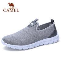camel 骆驼2018春季潮流新品套脚运动休闲鞋男轻便透气健步老爹鞋