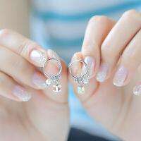 银耳环女韩国气质简约清新个性创意百搭时尚甜美学生耳饰