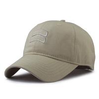 超大帽子男夏天特大号棒球帽大码户外遮阳加深加大头围鸭舌帽65cm 米白色 米色