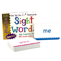 Miles Kelly Get Set Go Flashcards Sight Words 闪卡 高频词学习卡片 英文