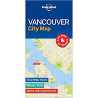 Vancouver City Map 1 Lonely Planet 9781786576606 Lonely Pla