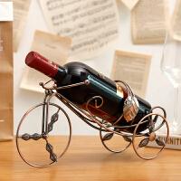 客厅酒柜装饰品红酒架摆件创意酒柜铁艺葡萄酒架摆设家用欧式酒架