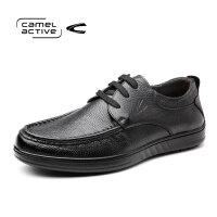Camel Active/骆驼动感新品男士休闲鞋英伦真皮系带商务爸爸皮鞋