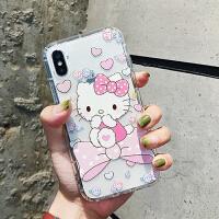 卡通可爱Kitty猫苹果XS/max手机壳iPhone7plus/8/6S透明保护套XR