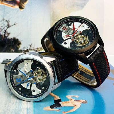 手表男士全自动机械表防水学生运动时尚概念男表