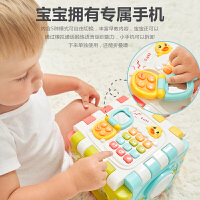 婴儿多功能手拍鼓玩具音乐儿童益智六面体