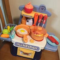 儿童过家家小厨房玩具套装宝宝男女孩仿真炒菜厨具做饭煮饭