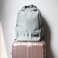 韩版防水尼龙双肩包2018新款女包旅行学生背包15.6寸电脑商务书包