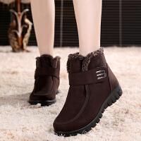 老北京布鞋女棉鞋冬加厚雪地靴中老年妈妈奶奶鞋保暖防滑高帮短靴