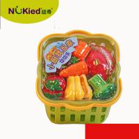 维莱 香港纽奇切水果蔬菜切切乐组合套装男女孩过家家儿童厨房玩具仿真