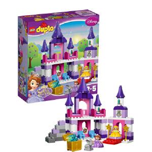 [当当自营]LEGO 乐高 duplo得宝系列 小公主苏菲亚的皇家城堡 积木拼插儿童益智玩具 10595