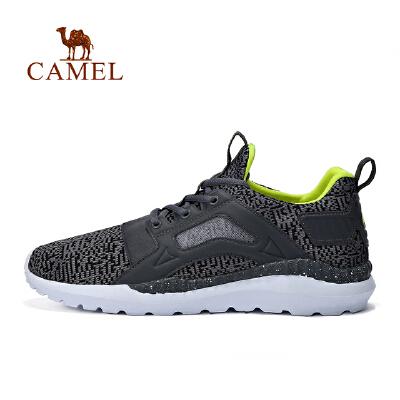 camel骆驼男款运动鞋跑步鞋高透气轻盈脚感时尚低帮运动鞋