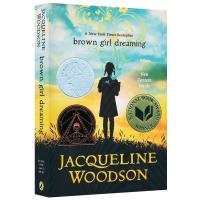 黑人女孩的梦想 英文原版小说 Brown Girl Dreaming 纽伯瑞儿童文学银奖 英文绘本 历史故事书 英文版
