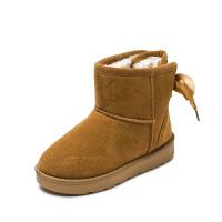 女童秋冬季冬鞋保暖女童童鞋